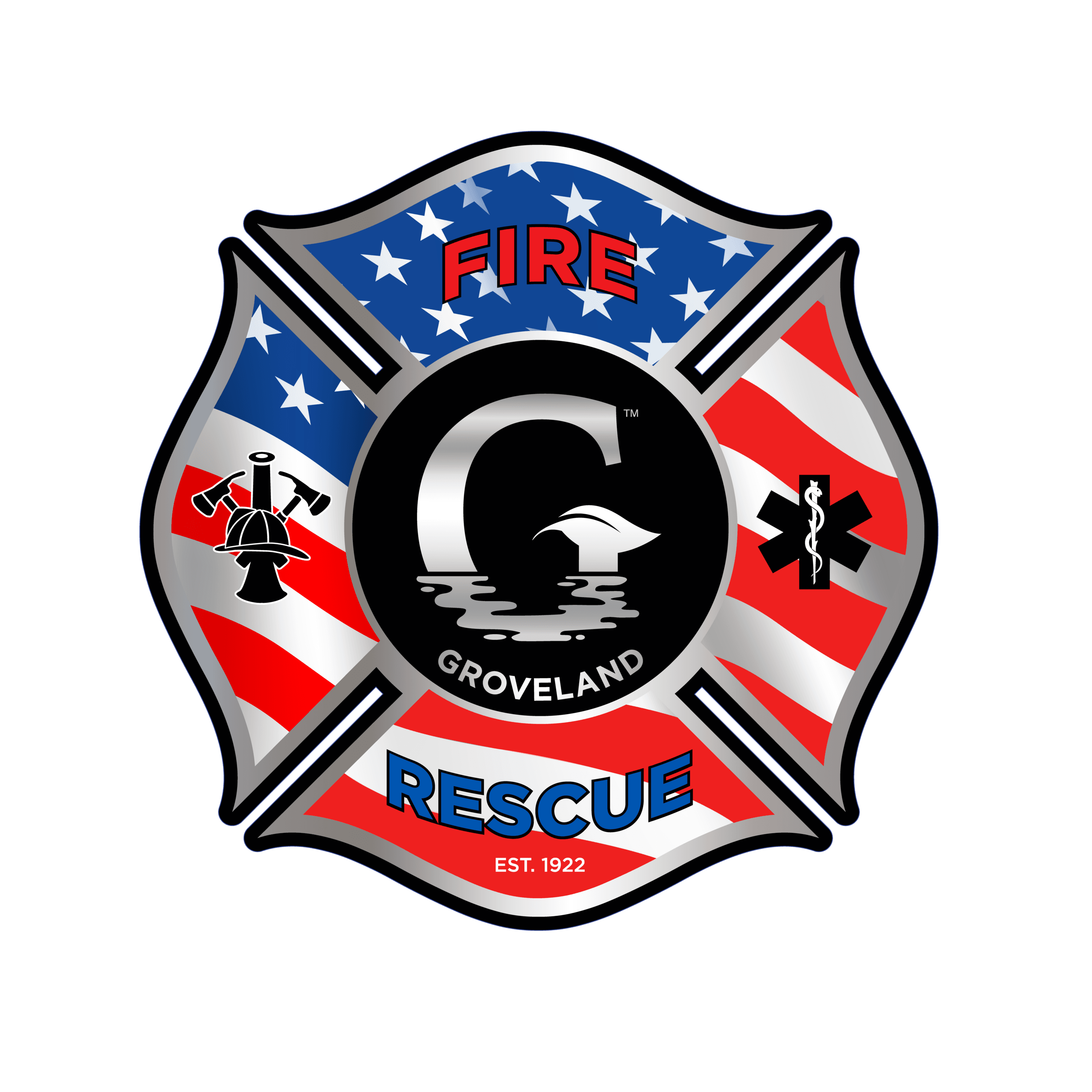 GROVELAND FIRE badge v3-01