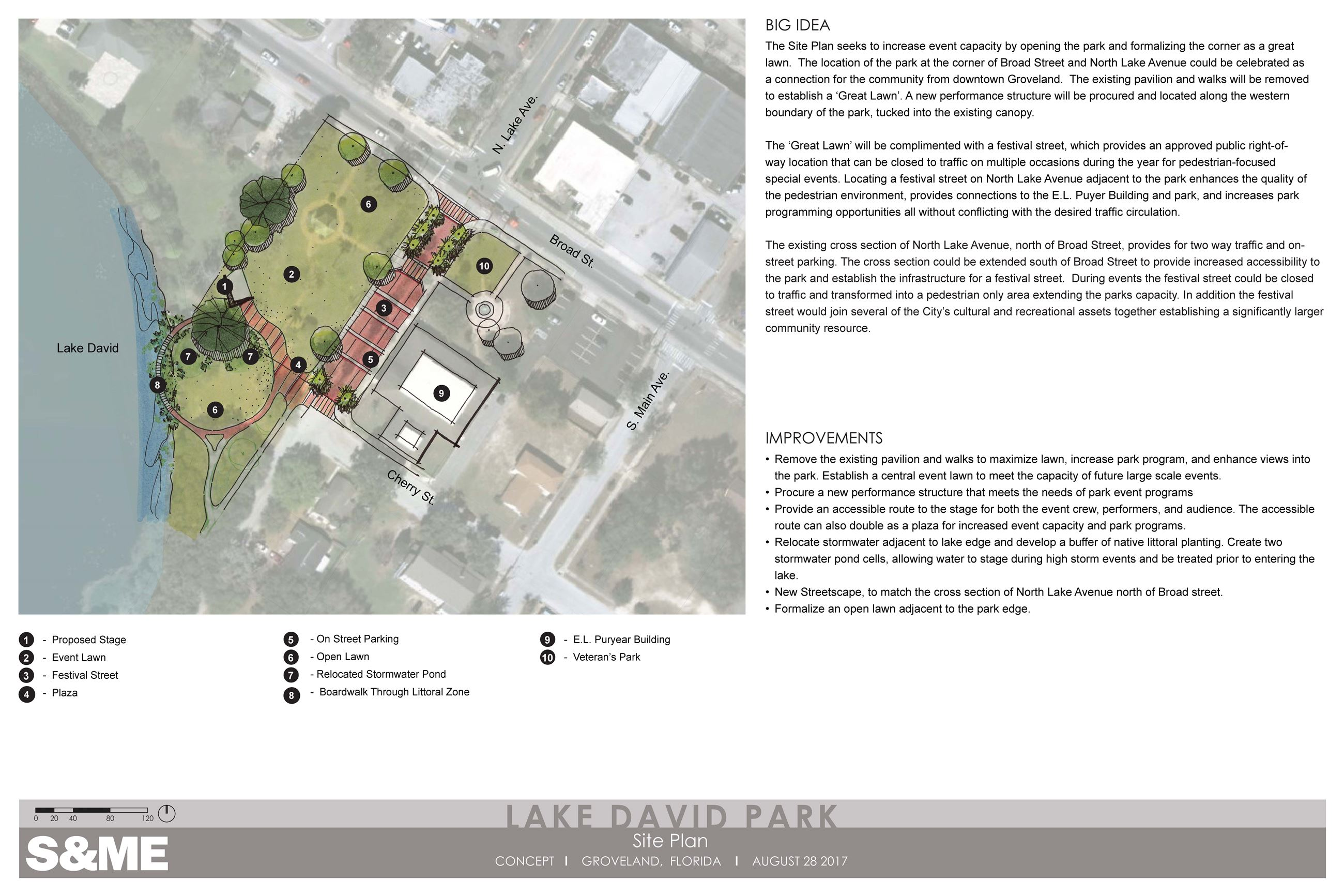 North Lake David Park Site Plan