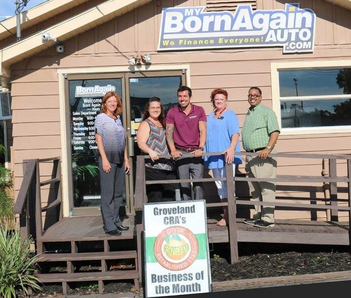 Business of the Month for July Born Again Auto 2017
