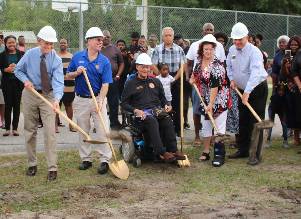 Ground Breaking Ceremony Picture 1
