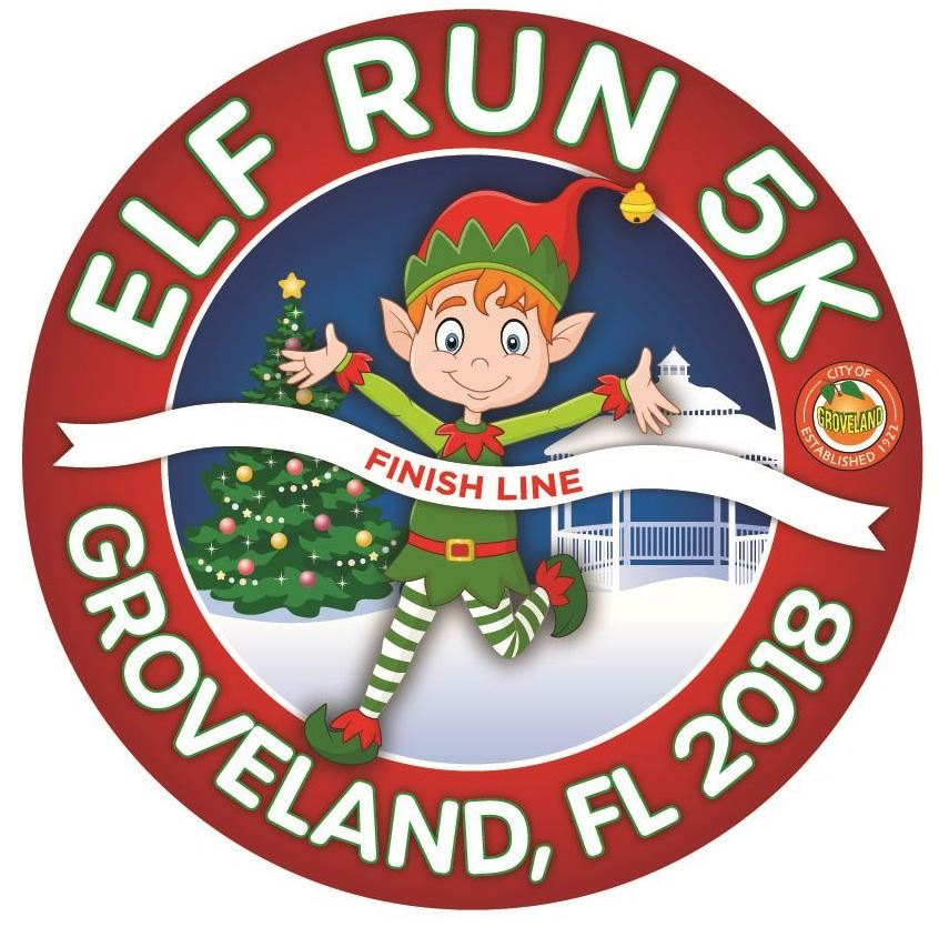 Elf Run 5K 2018 Logo