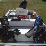 Dive Team Boat and Gear